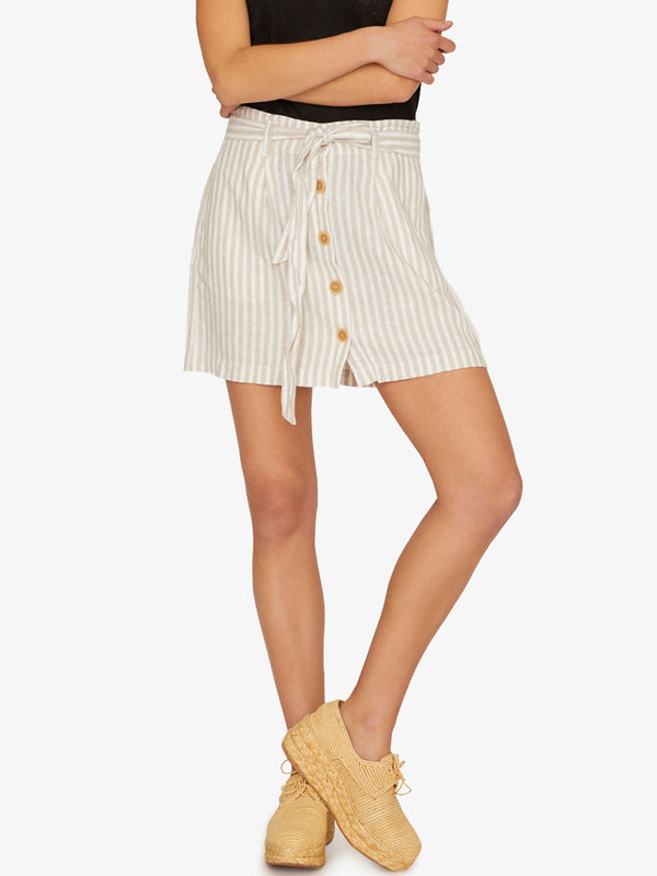 Sagebrush Paperbag Skirt Sand Valley StripeÃ'