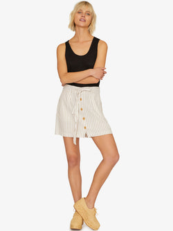 Sagebrush Paperbag Skirt Sand Valley Stripe