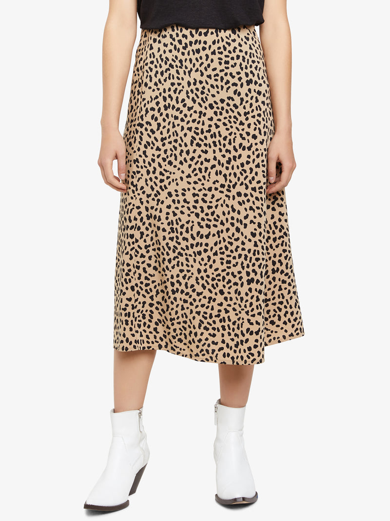 Everyday Midi Skirt Modern Spots