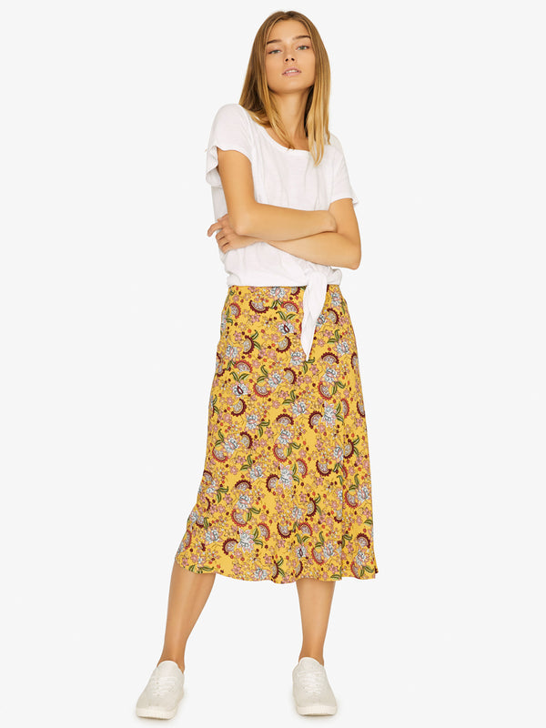 Everyday Midi Skirt Sunrays