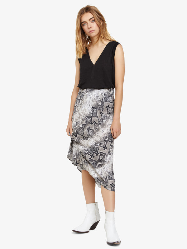 Everyday Midi Skirt Queen Snake