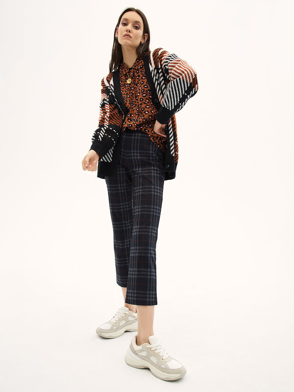 Carnaby Kick Crop Brixton Plaid