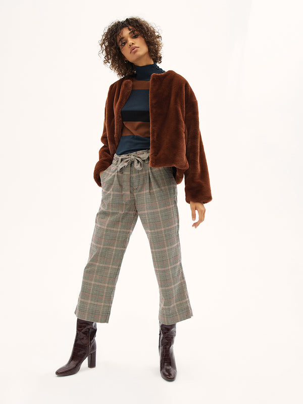 Inland Sashed Crop Marlow Plaid