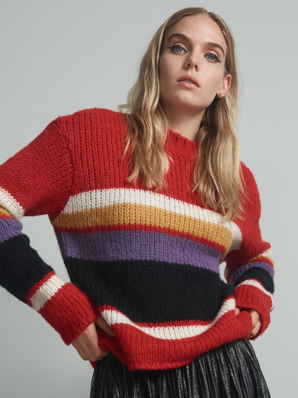 Party Stripe Sweater Party Stripe