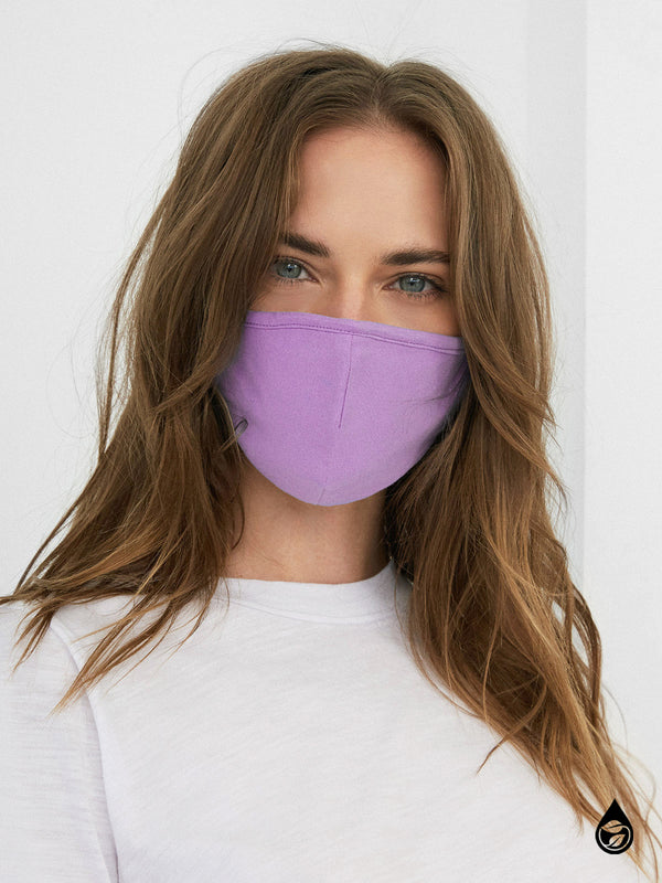 4 Pack Organic Cotton Washable PPE Masks Most Loved Solids