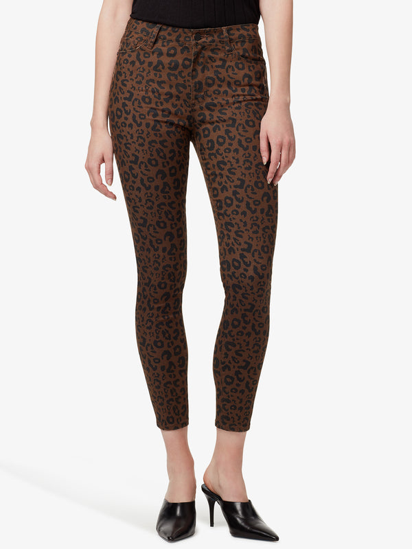 Social Standard High Rise Skinny Ankle Leopard