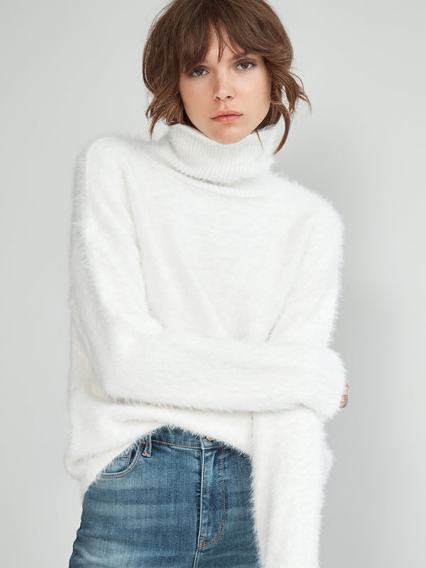 Super Soft Pullover Sweater Cloud