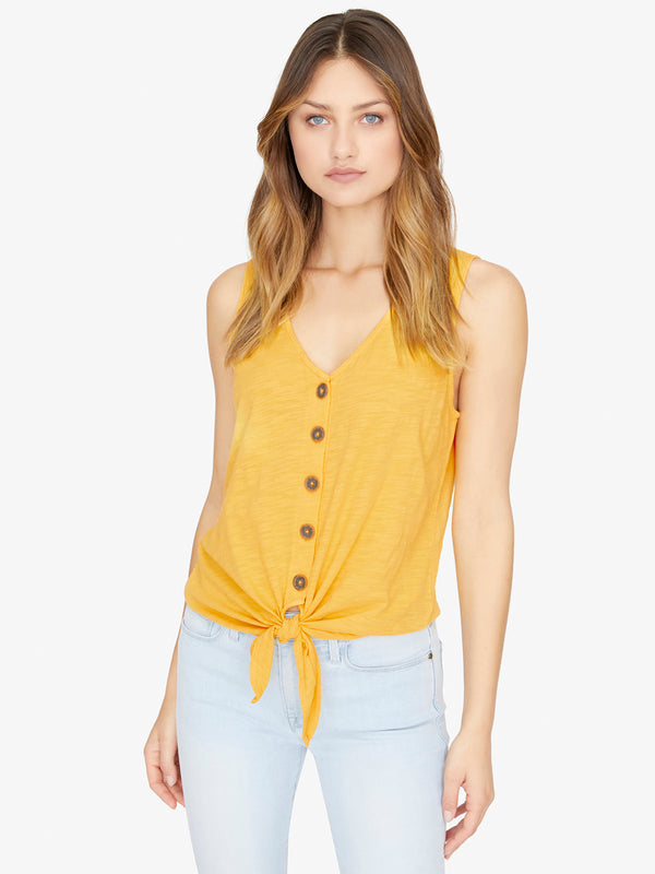 Tied To You Tank Desert Marigold