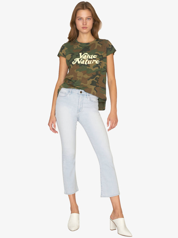 Value Nature Tee Love Camo