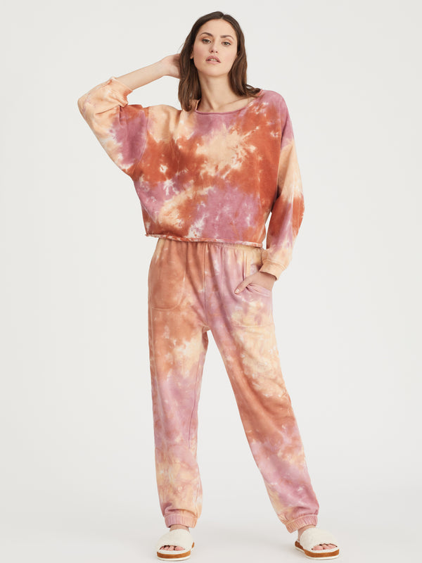 Perfect Sweatpant Field Tie Dye