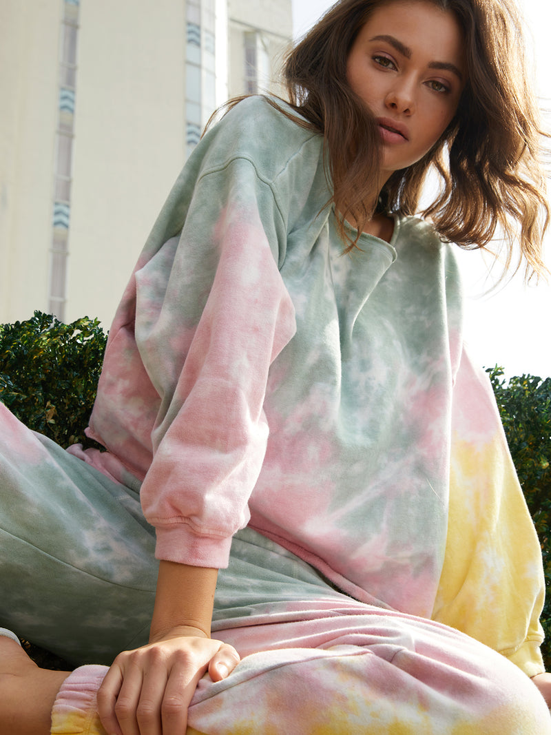 Perfect Sweatshirt Dreamy Tie Dye