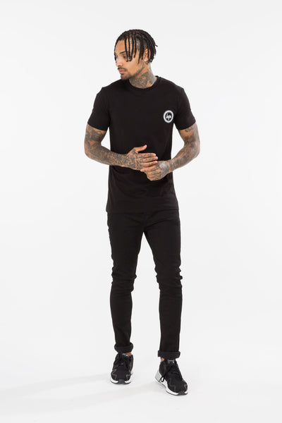 HYPE Black Jh Spine T-shirt