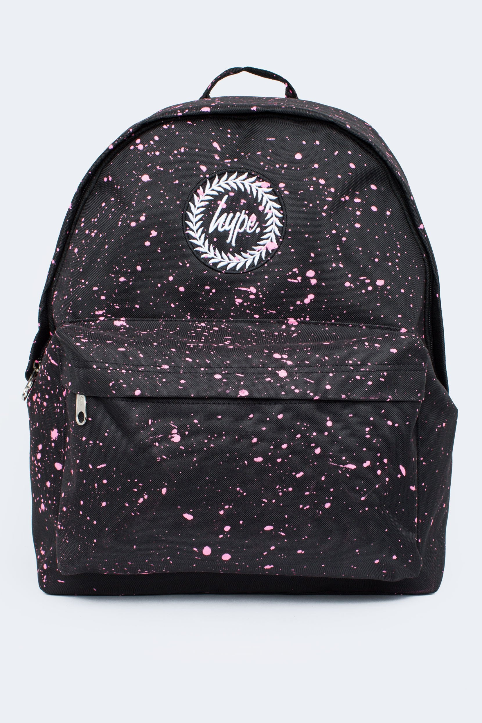 f30fb6ec HYPE Backpack Speckle Black/Pink - Justhype.no