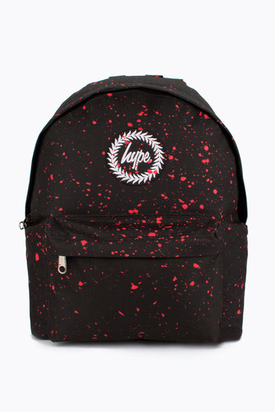 HYPE Backpack Speckle Black/Red