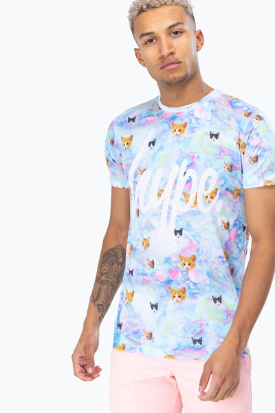 HYPE Men's T-shirt Fairy Cats