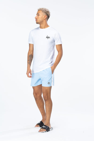 HYPE Men's Swim Shorts Side Stripe Crest