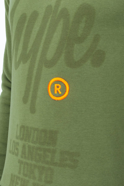 HYPE Men's Crewneck Khaki Register