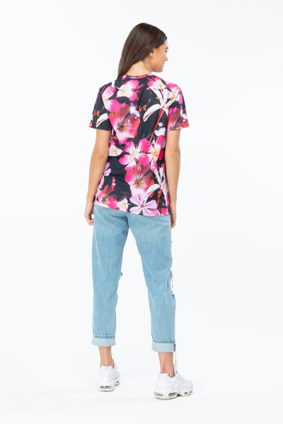 HYPE Women's T-shirt These Flowers Multi