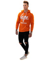 HYPE Men's Pullover Hoodie Hype Script Orange