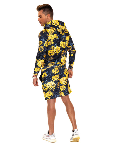 HYPE Men's Shorts Rose Yellow