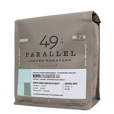 49th parallels espresso coffee bag