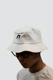 High Noon Logo Bucket Hat - White