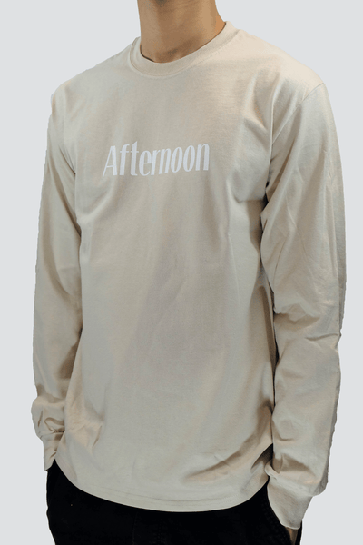 Typewriter Long Sleeve - Tan