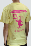 Express Delivery Tee - Yellow