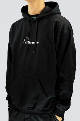 Up In The Clouds Hoodie - Black