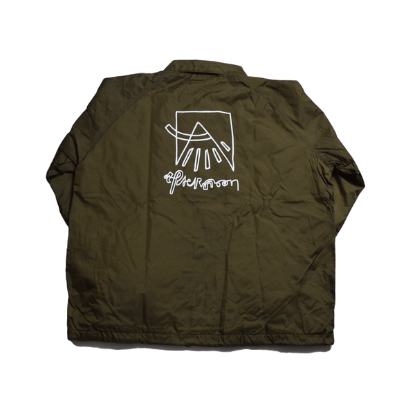 AFTN Coaches Jacket - Brown