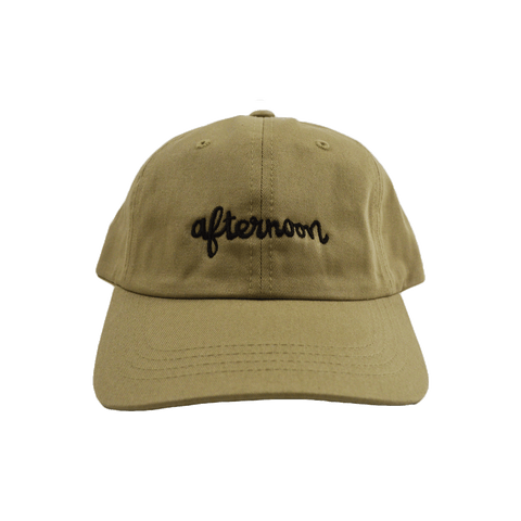 Script Dad Hat - Brown