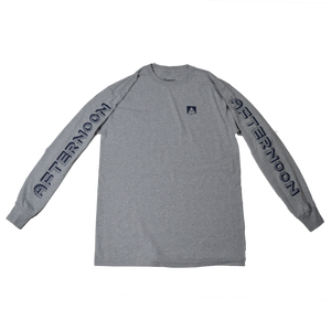 Le Pez Long Sleeve - Heather Grey