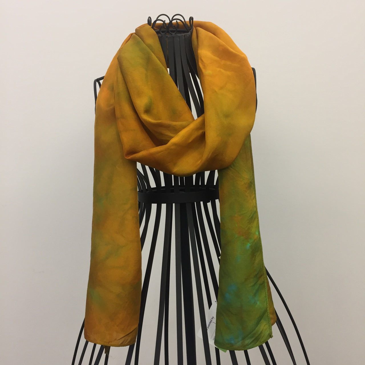 """Autumn Song"" Silk Scarf by Lisa DeVault"