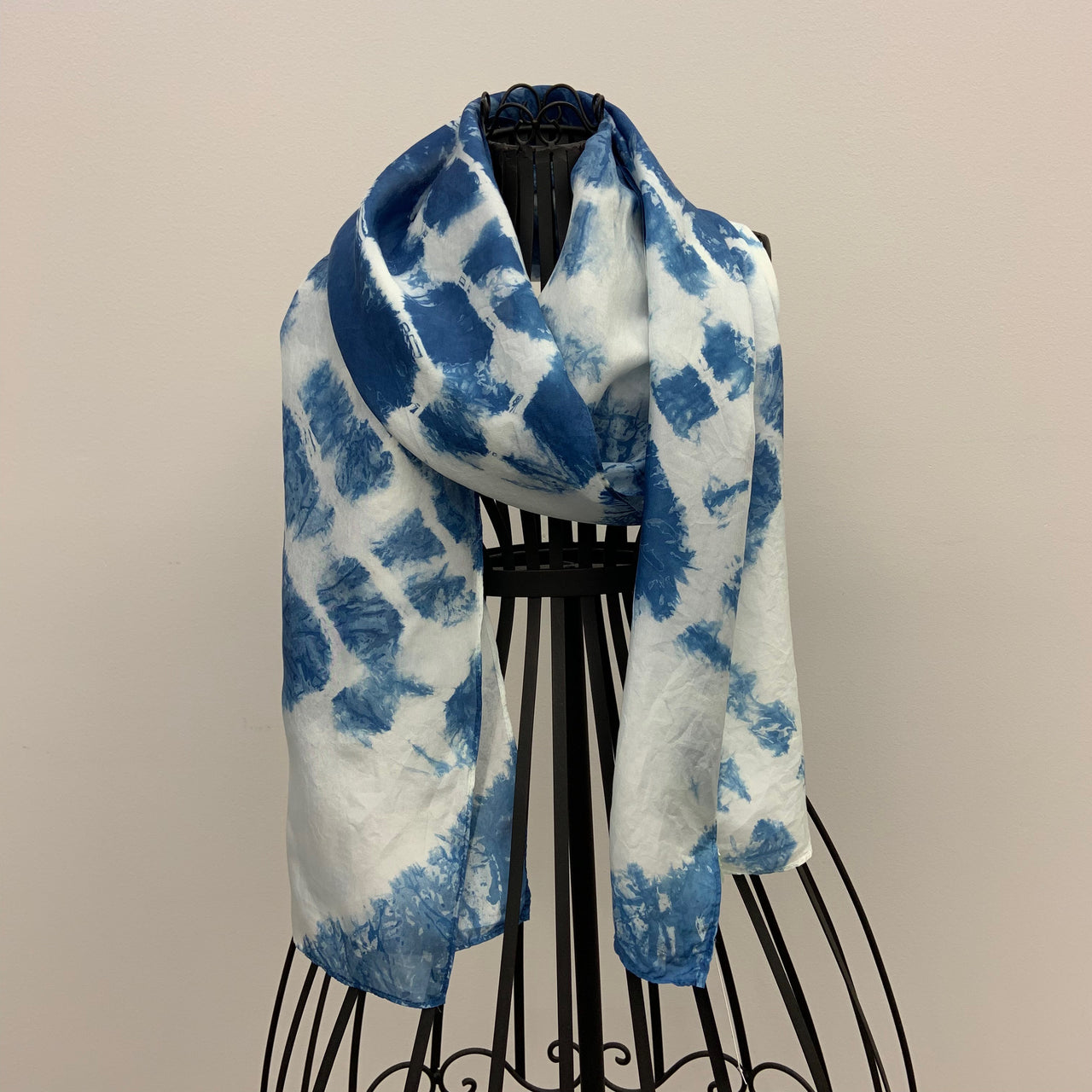 """Night Sky"" Silk Scarf by John Healey"