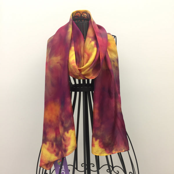 """Awakenings"" Silk Scarf by Laurie Jarrett"