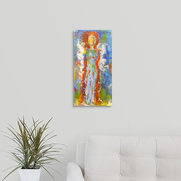 """Angel in Blue"" Print by Stephanie Drews"