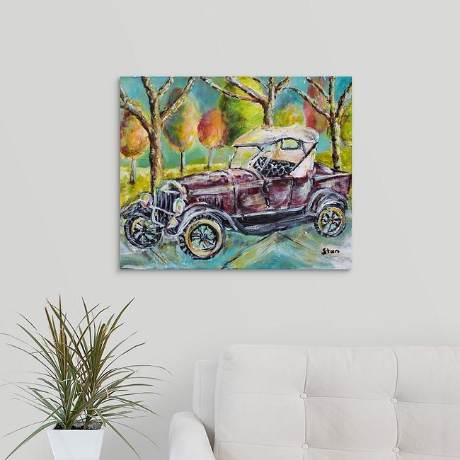 """Armstrong Buggy"" Print by Stan Balman"