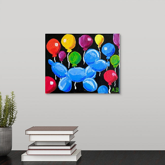 """Balloon Dog"" Original Painting by Alexander Brinkley"