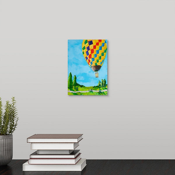 """Beautiful Hot Air Balloon"" Mini Print by Stephanie Drews"