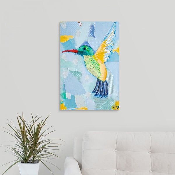"""Elegant Queen of the Hummingbirds"" Print by Lisa DeVault"