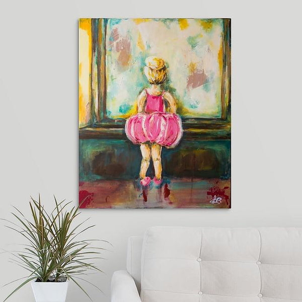 """Ella Kate"" Print by Laurie Jarrett"