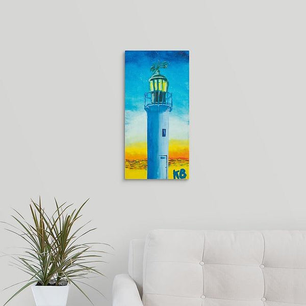 """Eugene, Oregon Lighthouse"" Print by Kelli Bringle"