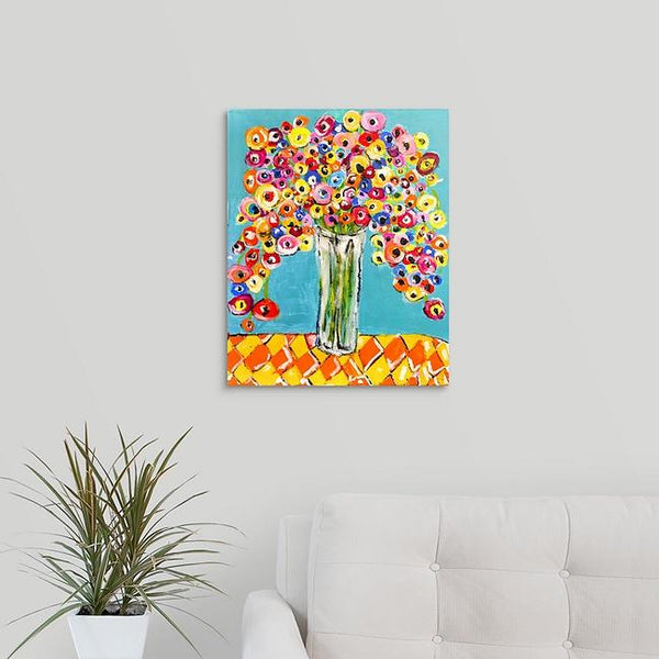 """Fall Flowers"" Print by Lisa DeVault"