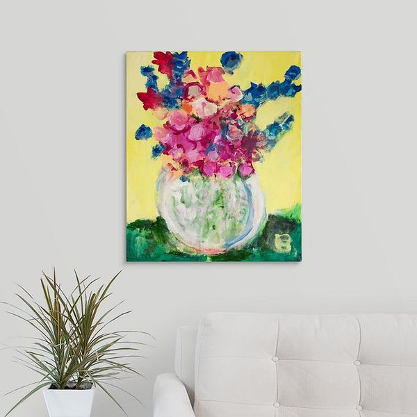 """Flowers Galore"" Print by Carrie Hoke"