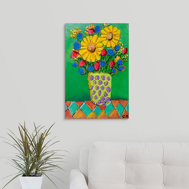 """Flowers of Spring, Summer and Fall"" Print by Casey McLain"