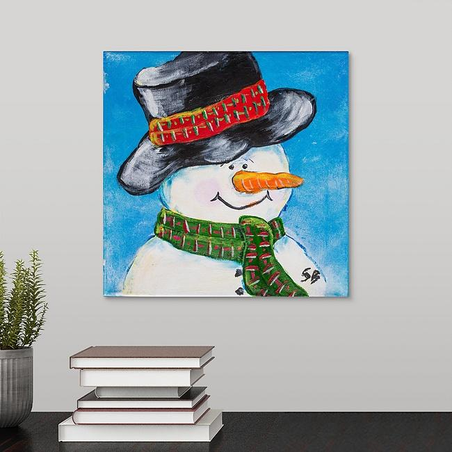 """Frosty"" Print by Stan Balman"