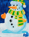 """Dee the Snow Lady"" Original Painting by Dee Hermes"