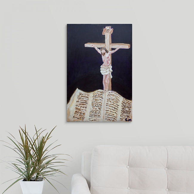 """Jesus on the Cross"" Print by Casey McLain"