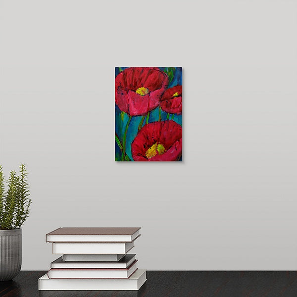 """Marcus's Poppies"" Mini Print by Marcus Mizell"