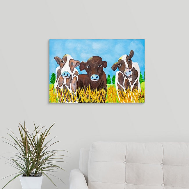 """Moo-ey"" Print by Jennifer Walton"